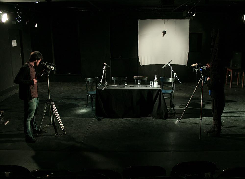 Performance by Marcio Carvalho, Accud Theater, Berlin