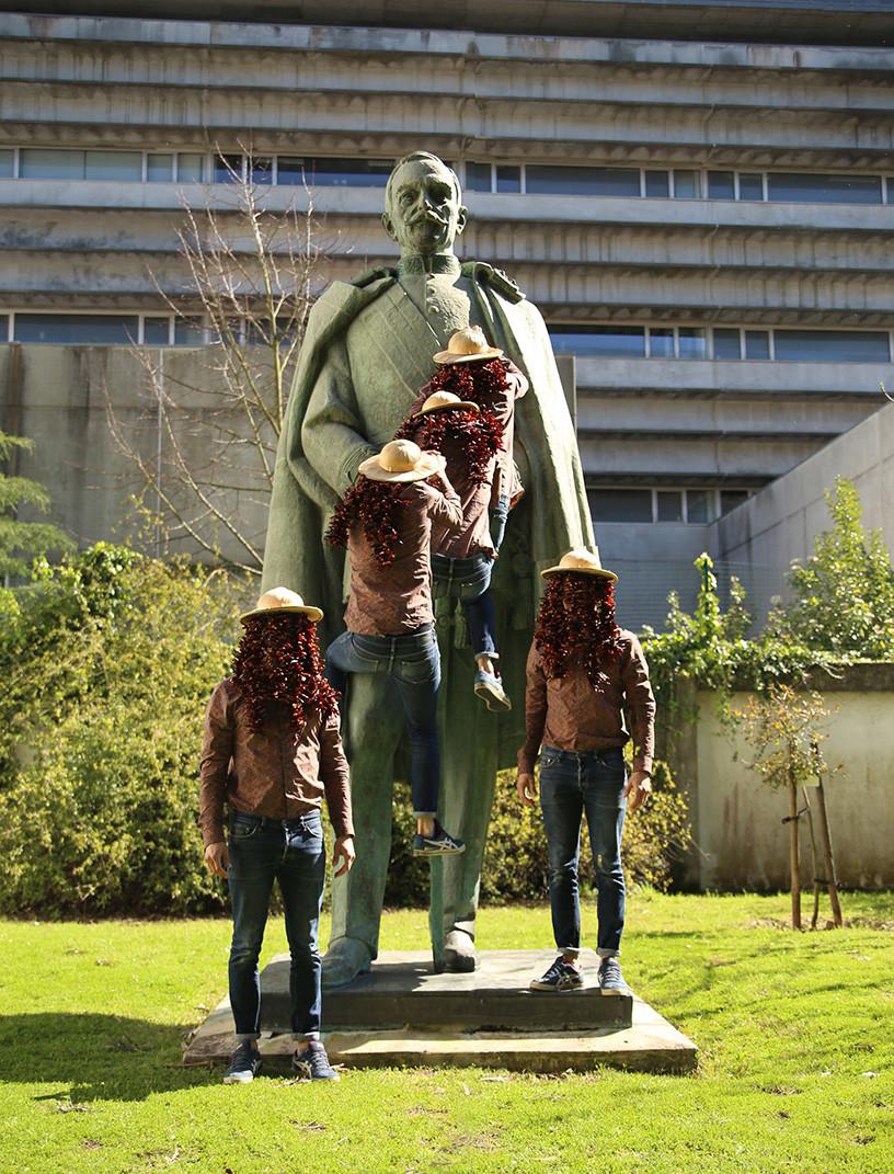 Oscar Carmona Statue  /  Haunting Oscar Carmona  /  Lisbon City Museum, Lisbon