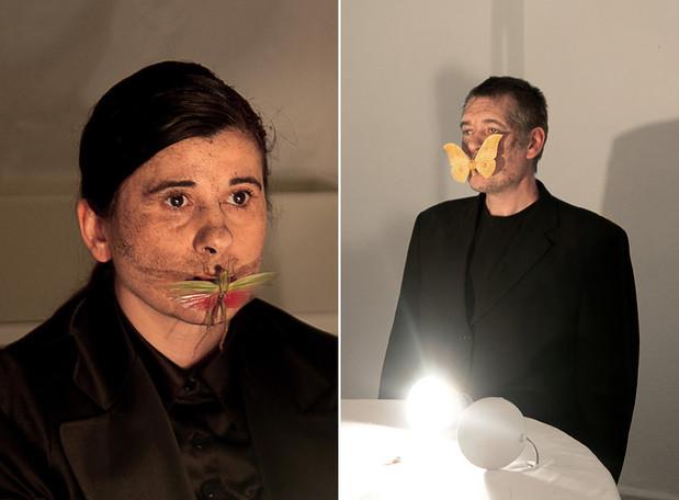 COLAB 6  /  Performance by Kurt Johannessen (Norway), Nezaket Ekici (Turkey)  /  SAVVY Contemporary, Berlin