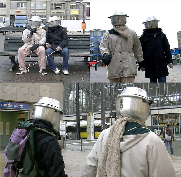 COLAB 7  /  Performance by Serge Olivier Fokoua (Cameroon) and Marc Patrick Chambon (Cameroon)  / Alexander Platz, Berlin