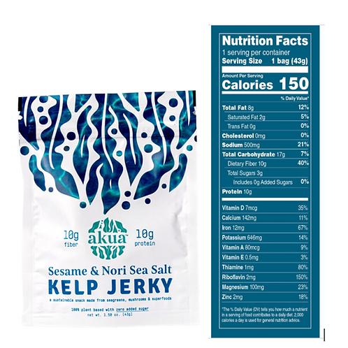 Sesame & Nori Sea Salt Kelp Jerky