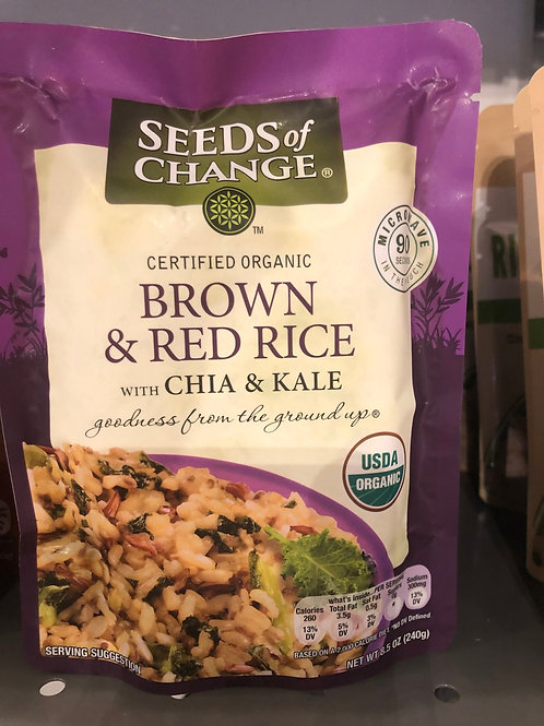 Seeds of Change - Brown & Red Rice w/ Chia & Kale