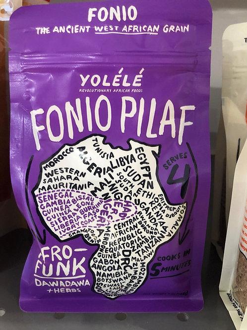 Afro-Funk Fonio Pilaf: Dawadawa + Herbs