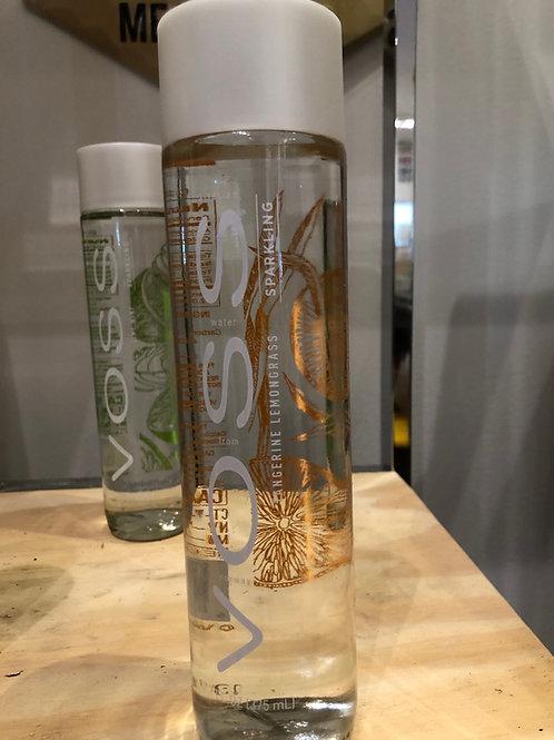 Voss Sparkling Tangerine Lemongrass Water