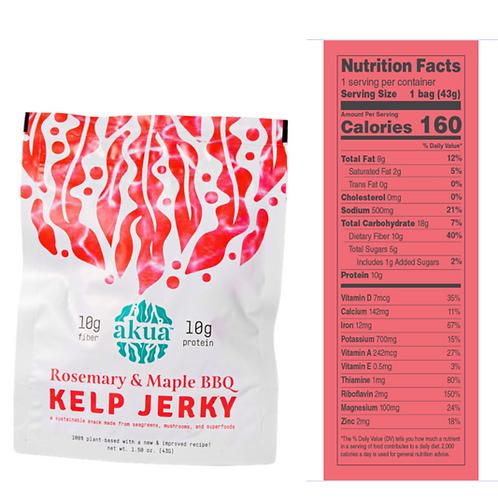 Rosemary & Maple BBQ Kelp Jerky