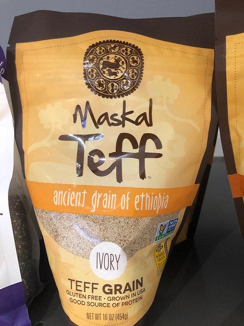 Maskal Teff: Ivory Teff Grain