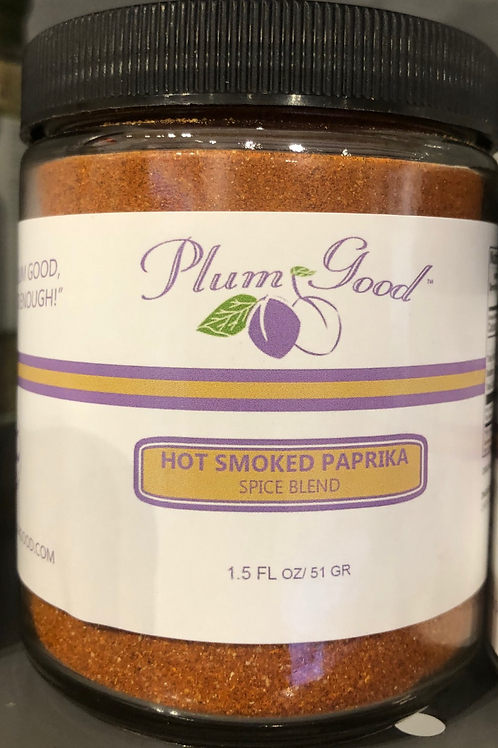 Plum Good - Hot Smoked Paprika Spice Blend