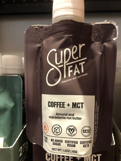 SuperFat Coffee + MCT Nut Butter