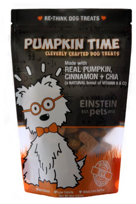 Pumpkin Time -Dog Treats
