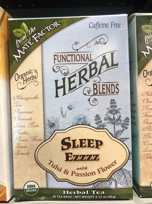 Function Herbal Blends Tea - Sleep Ezzzz with Tulsi & Passion Flower