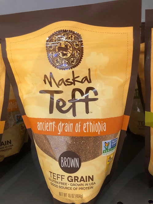 Maskal Teff: Brown Grain,