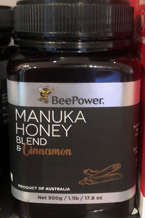 Manuka Honey Blend & Cinnamon