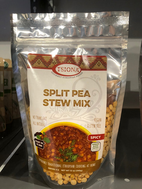 Spicy Split Pea Stew Mix
