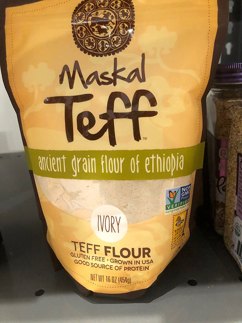 Maskal Teff: Ivory Teff Flour