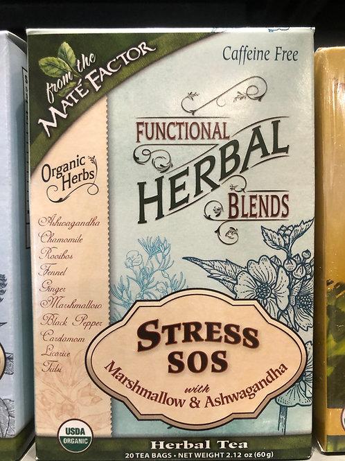 Functional Herbal Blends - Stress SOS with Marshmallow & Ashwagandha