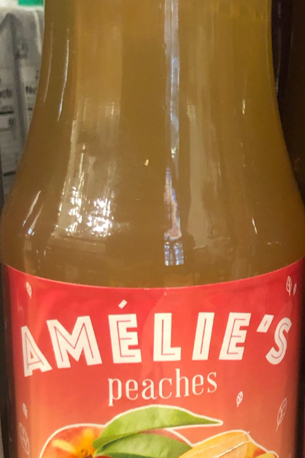 Amelie's Cloudy Apple & Peach Juice