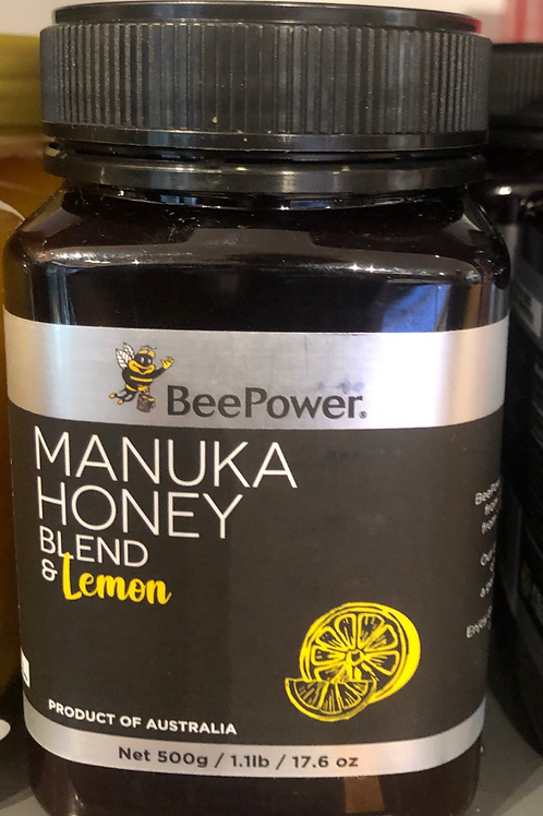 BeePower - Manuka Honey Blend & Lemon