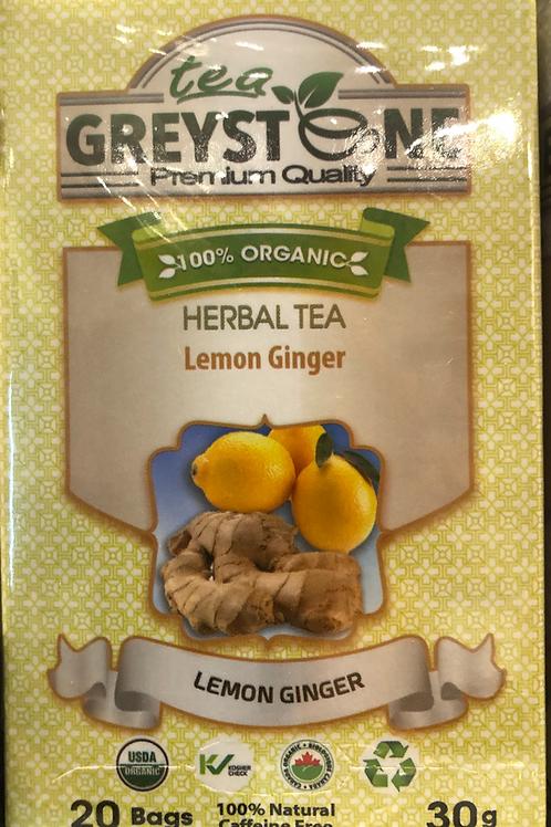 Lemon Ginger Greystone Tea