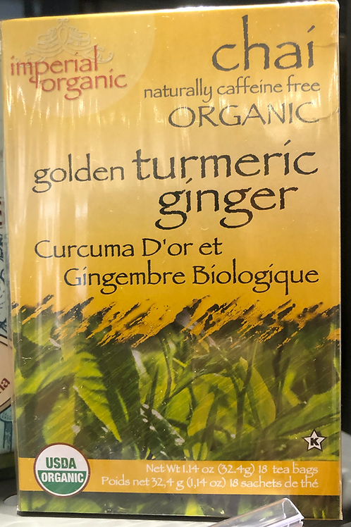 Imperial Organic - Organic Golden Turmeric Ginger Chai