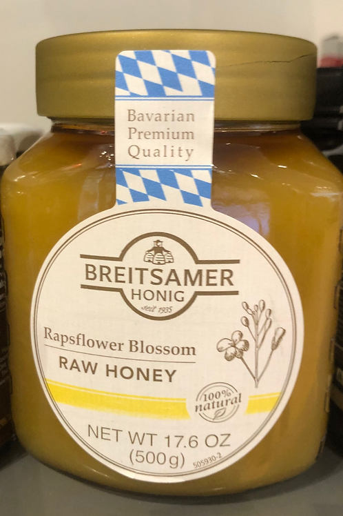 Breitsamer Honig Rapsflower Blossom Honey