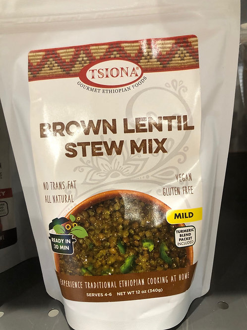 Mild Brown Lentil Stew Mix