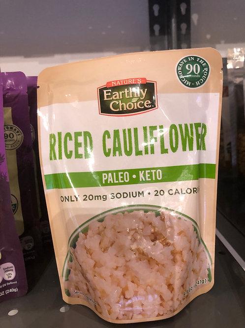 Earthly Choice - Riced Cauliflower
