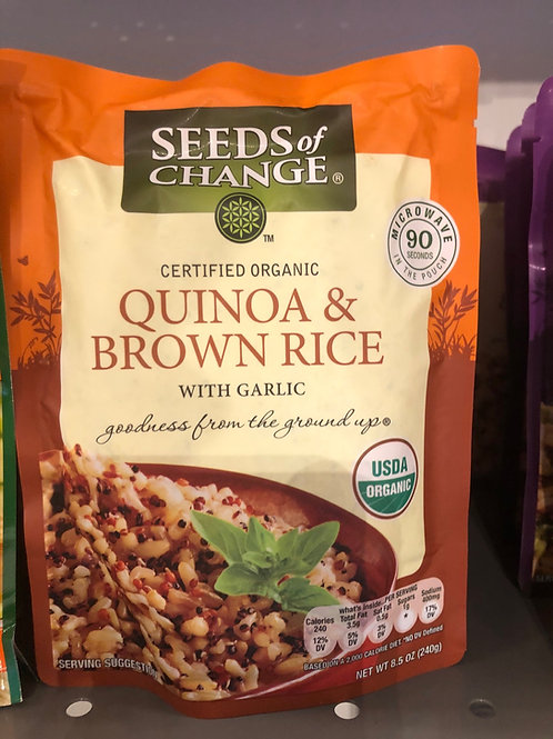 Seeds of Change - Quinoa & Brown Rice