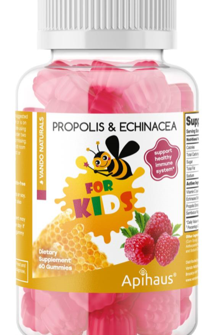 KIDS PROPOLIS, ELDERBERRY AND ECHINACEA GUMMIES