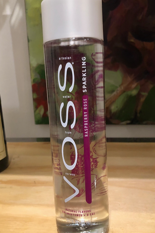 Voss Sparkling Raspberry Rose Water