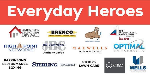 Everyday Hero Banner - GHD - Front Image
