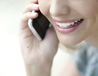 telefonlarda konuşma