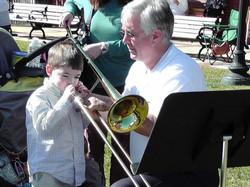 zoo trombone w Van