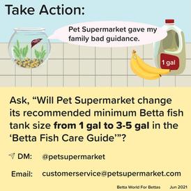 "Pet Supermarket ""Betta Fish Care Guide"""