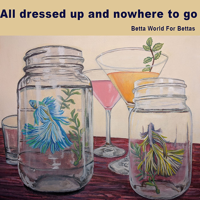 All Dressed Up And Nowhere To Go - Mason Jar Betta Fish.jpg
