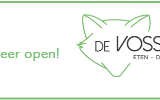 Yes, we gaan weer open!