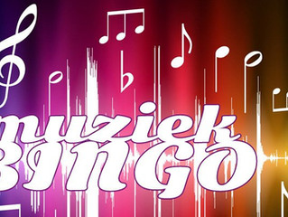 Muziekbingo! Zondagmiddag 17 februari!