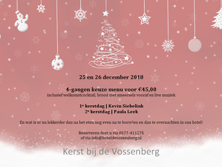 Kerst bij de Vossenberg