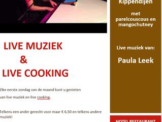 Live Muziek & Live Cooking