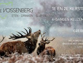 Kerst 2019 bij de Vossenberg!