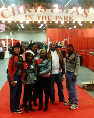 "Iron Riders Volunteer at ""Christmas In The Park at Fair Park"""