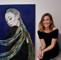 portrait mit künstlerin anna lipski