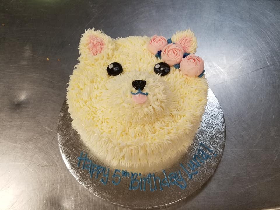 Dogggie cake