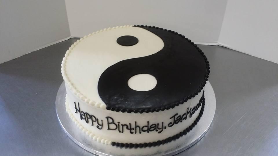 Ying Yang cake