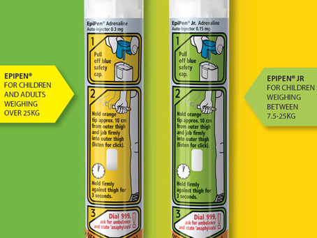 Update for using EpiPen®