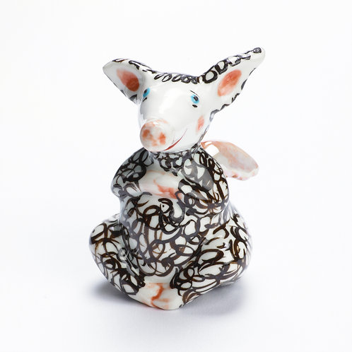 ROSALIE das geflügelte Glücksschwein