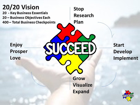Succeed 20 / 20 Business Vision
