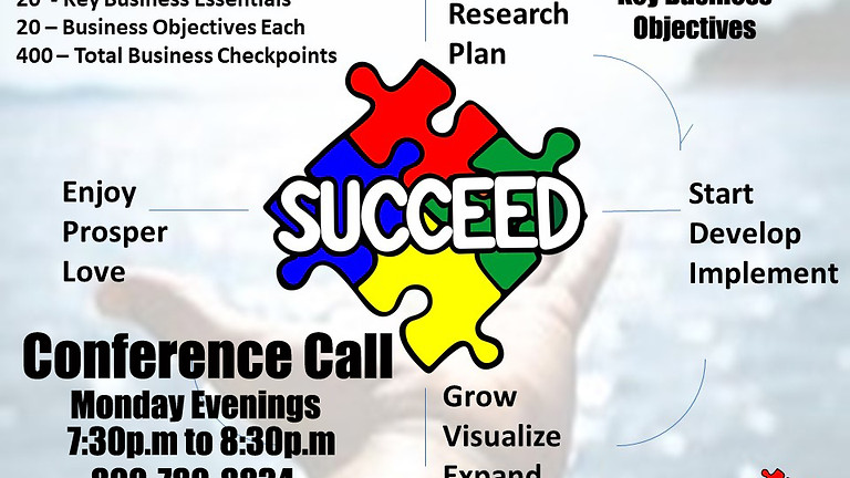 Succeed 20 / 20 Business Vision Conference Call