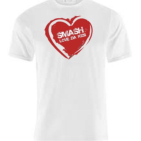 SMASH LOVE DA KIDS T SHIRT SHORT