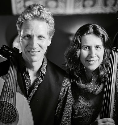 Knud Stuwe (oud) and Daphna Sadeh (double bass)