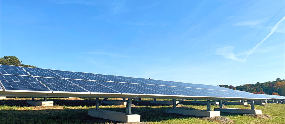 1.5 MW Solar System on Hopatcong Landfill in NJ is live !
